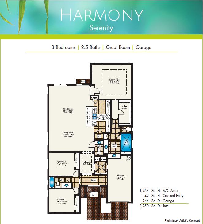 Harnony floor plans