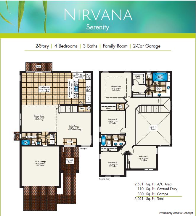 Nirvana Floor Plan