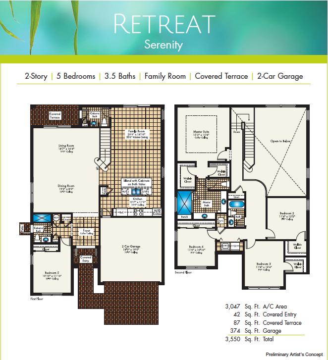 Retreat Floor Plan
