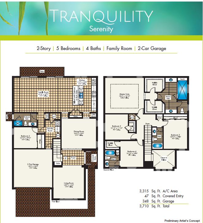 Tranquility Floor Plan